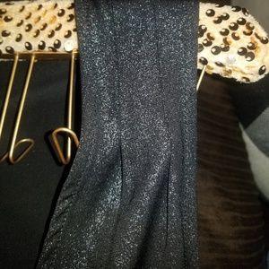 Marilyn Monroe Pants - Marilyn Monroe Black Glitter Sleeveless Jumpsuit